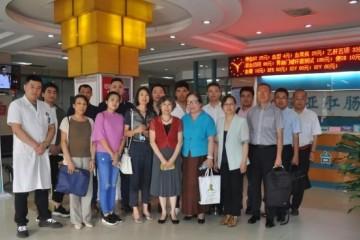 山西商会企业家团队赴天津欧亚肛肠医院走访交流!